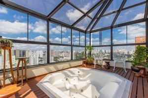 Apartamento em Moema na Rua Inhambú Rua Inhambú São Paulo -