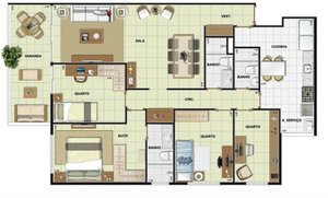 MÉIER - EXPAND RESIDENCES - Apartamentos prontos para morar, de 89 a 115m² - 3 e 4 quar... Rua Coração de Maria RIO DE JANEIRO