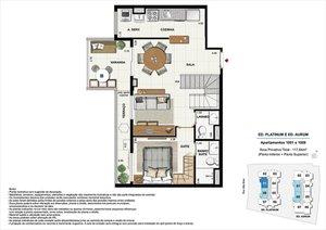 CACHAMBI - NORTE PREMIUM - APARTAMENTOS PRONTOS PARA MORAR, de 58 a 118 m² - 2 e 3 quar... Rua São Brás RIO DE JANEIRO