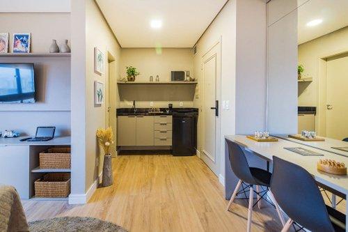 Studio Century Park Living 1 dormitório 27m² Loureiro da Silva Porto Alegre -