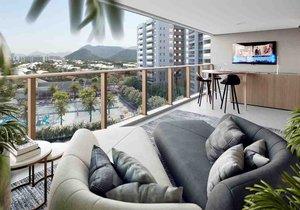 BARRA DA TIJUCA - LATITUD CONDOMINIUM DESIGN - Apartamentos de 3 e 4 quartos de 120 a 1... Avenida Rosauro Estellita RIO DE JANEIRO