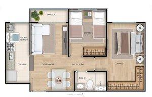ÁGUA SANTA - CONDOMÍNIO TORRES DO MÉIER - Apartamentos de 2 quartos com e sem suíte - a... Rua Dois de Fevereiro RIO DE JANEIRO