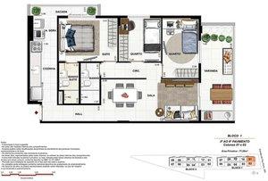 PECHINCHA - CONDOMÍNIO VILLAGE ROYAL - apartamentos de 2 e 3 quartos com suíte e cobert... Estrada Pau-Ferro RIO DE JANEIRO
