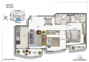 TIJUCA - HADIMARC VARNHAGEM - apartamentos de 1 e 2 quartos com suíte de 40 a 70 m² - a... Rua Jaceguai RIO DE JANEIRO