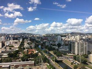 Loft com vista para Porto Alegre Avenida Borges de Medeiros Porto Alegre -