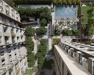BARRA DA TIJUCA - MUDRÁ FULL LIVING - apartamentos de 2 e 3 quartos de 78 a 106 m² e co... Avenida Cândido Portinari RIO DE JANEIRO