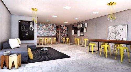 Apartamento Urb Park 1 suíte 44m² Santana Porto Alegre -