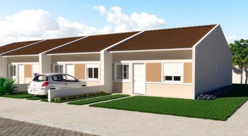 Casa em Condomínio Residencial Araucária - Fase 1 1 suíte 61m² Adão Foques Guaíba -