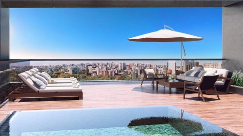 Apartamento 4 suítes 4 vagas - 256m² - MOINHOS DE VENTO Comendador Caminha Porto Alegre -