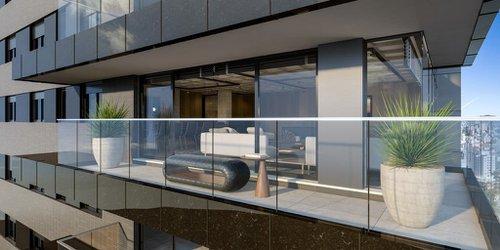 Apartamento Hundred 3 suítes 232m² Doutor Lauro de Oliveira Porto Alegre -