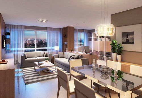 Apartamento Munich 1 suíte 76m² Dona Leopoldina Porto Alegre -