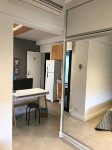 Apartamento com 43 m², 1 Quarto, mobiliado, locação Avenida Doutor Cardoso de Melo São Paulo