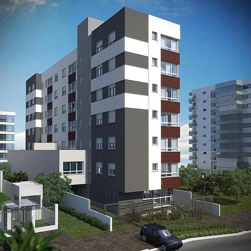 Apartamento Dahshur 1 suíte 39m² Marcelo Gama Porto Alegre -