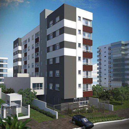 Apartamento Dahshur 1 suíte 60m² Marcelo Gama Porto Alegre -