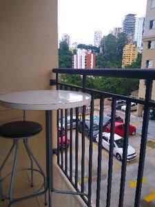 Apartamento com 50 m² 2 Quartos, 1 suite, Mobiliado - Panamby Rua Doutor Carlos Aldrovandi São Paulo