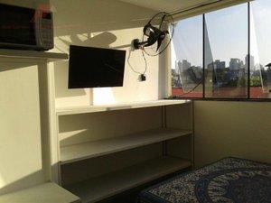 Apartamento com 35 m² - Mobiliado - Mirandópolis Rua Luís Góis São Paulo -
