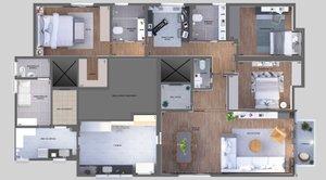 Apartamento 3 Dormitórios, 2 Vagas, Reformado, Av. Jauperi, Moema Impecável Avenida Jauaperi São Paulo -