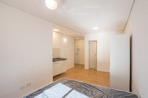 Apartamento Studio com 22 m² Semimobiliado  Rua Bueno de Andrade São Paulo -