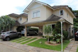 Casa em condomínio com 185m2, 3 suítes + office Av. Wilhelm Rotermund São Leopoldo -