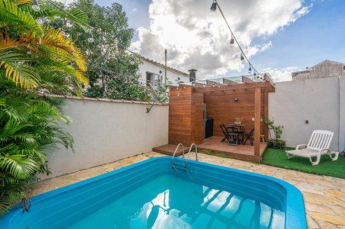 Apartamento Garden Mobiliado com 110 m² com 2D transformado em 1D de Fácil Reversão Rua Felicíssimo de Azevedo Porto Alegre -