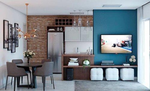 Apartamento Gaivotas Residence 1 suíte 65m² Brisamar Florianópolis -
