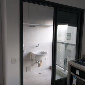 Apartamento com 70 m², 2 dorm. 1 suite, Apartamento novo 1ª locação Rua Morais de Barros São Paulo -
