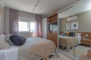 2 dormitórios com suíte no Vida Viva Horizonte Rua Doutor João Inácio Porto Alegre